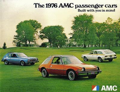 The 1976 AMC Passenger Cars