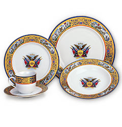 The Pride of the Confederacy Dinnerware Collection