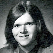 Michael Moore 70s-era High School Yearbook Photo