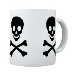 Mugs-A-Plenty: Skull And Bones