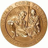Navajo Code Talkers Medal